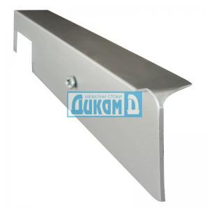 Съединителна лайсна право/криво за плот 38 мм