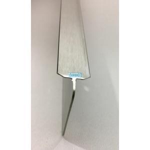 Съединителна лайсна право/право, никел мат за плот 38 мм