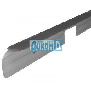 Съединителна лайсна право/криво, L профил за плот 28 мм