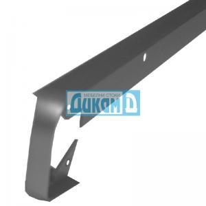 Съединителна лайсна, право/криво, обхващаща, тясна за плот 28 мм