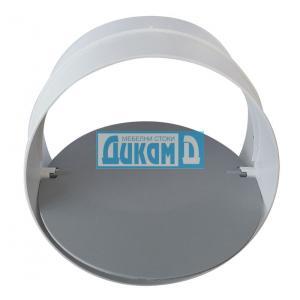 Конектор с клапа за кръгъл пвц въздуховод
