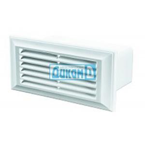 Решетка за плоски въздуховоди за стена