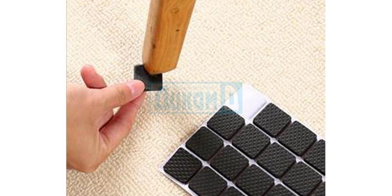 Door buffers, chair pads, stoppers and door brushes