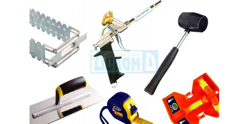 Consumables, tools and materials for furniture production