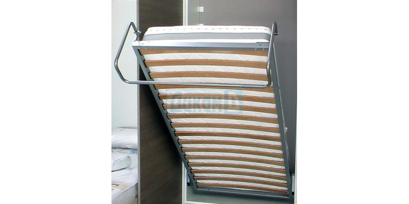 Mechanisms for falling bed and for lifting mattress frames