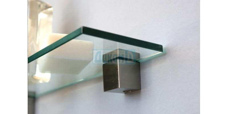 Shelf holders for wooden and glass shelves