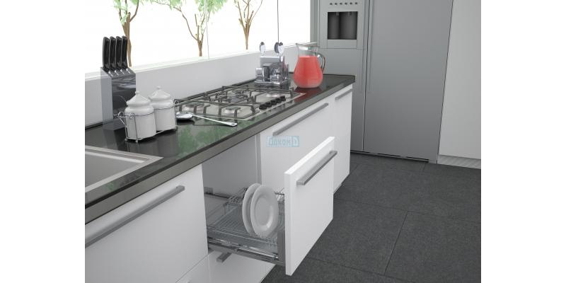 Dish rack for drainers
