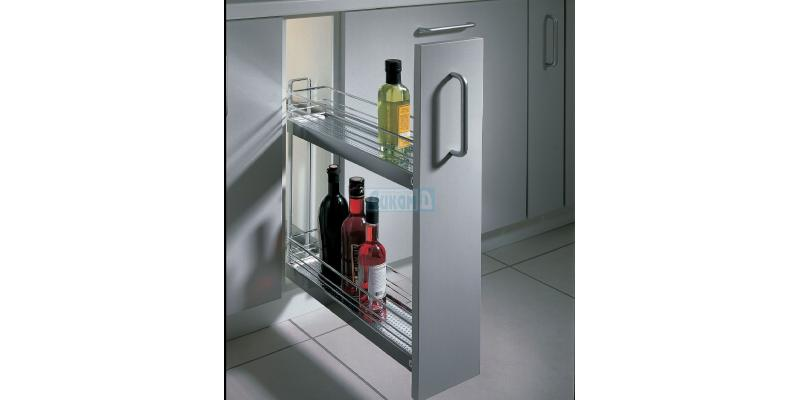 Pull-out kitchen baskets for cabinet 150 mm