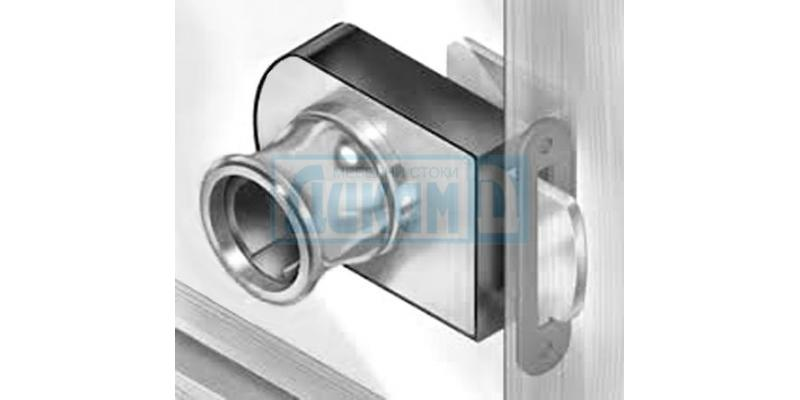Locks for glass doors
