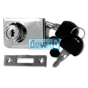 Ключалка за две стъклени врати, без пробиване