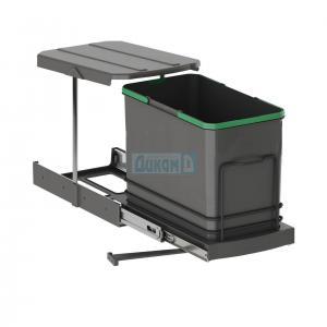 Кухненска кофа за шкаф изтегляща антацит - висока