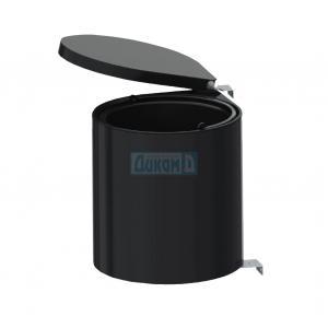 Кухненска кофа за вграждане в кухненски шкаф черна