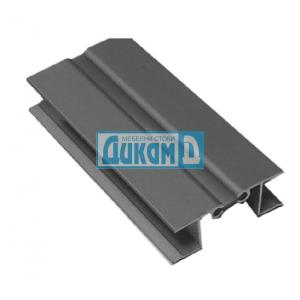 Чупещ ПВЦ ъгъл за база - алуминий