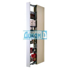 Колони за вграждане в шкаф 150 мм с плавно затваряне