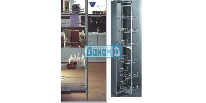 Висок изтеглящ механизъм - тип колона