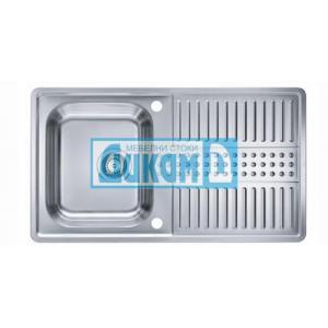 Кухненска мивка Пиксел 10, микрорелефна, за шкаф 45 см