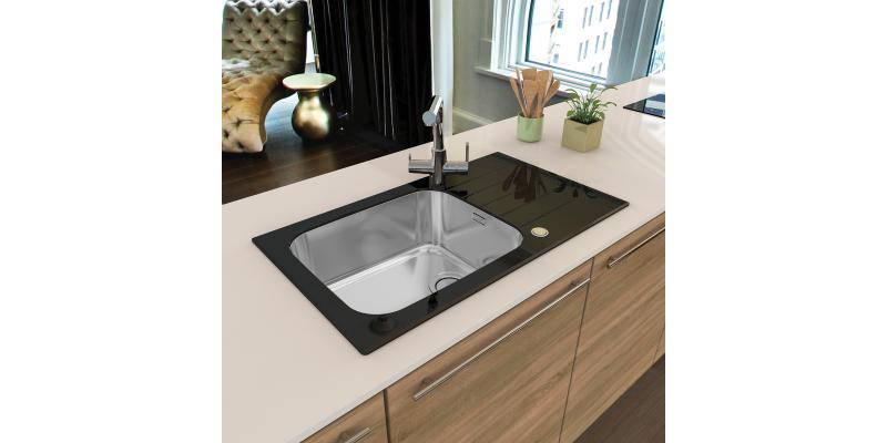 ALVEUS glass sinks